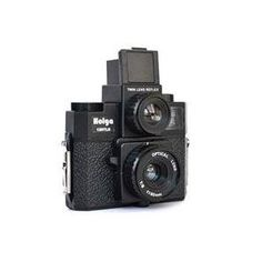 I have collected Holga's and Diana's for many years; kind of a photography nut. But I love that there is a resurgence of people going back to this art medium. I own this Holga in purple :)