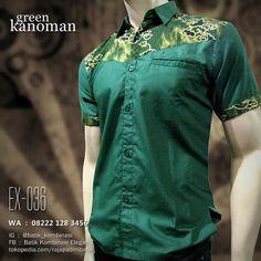 SERAGAM BATIK, Batik Kombinasi HIJAU, Batik Seragam Perusahaan, Pusat Seragam Batik, Batik Pria, https://seragambatikpria.wordpress.com, WA : 08222 128 3456