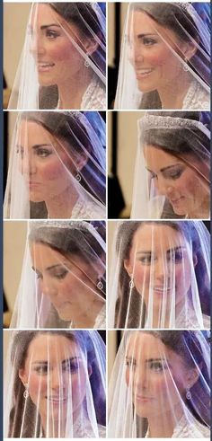 April 29, 2011 - Beautiful close-up of Kate Middleton on her royal wedding day to Prince William.