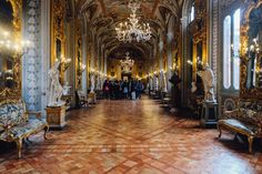 The Doria Pamphilj Gallery is an art museum in Rome filled with a collection of paintings, sculptures and frescoes owned by a noble Italian family.