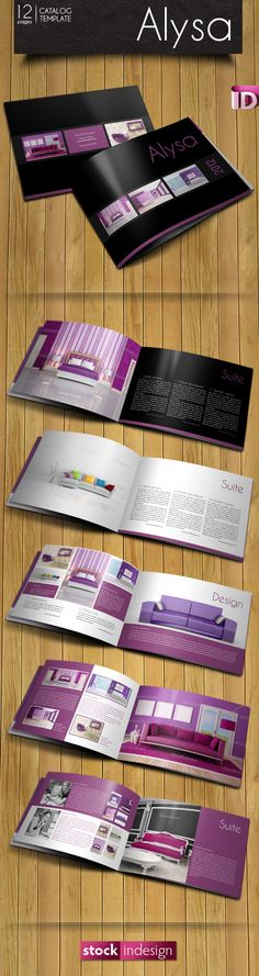 FREE InDesign Catalog Template: Alysa