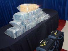 DNCD decomisa 52 kilos de cocaína escondidos en bodega barco procedente de Colombia