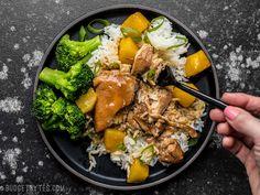 slow cooker pineapple teriyaki chicken
