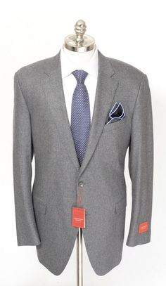 Smooth gradation, in this SAMUELSOHN SB Gable Solid Gray Wool Cashmere Flat Front 2Btn Suit!  |  Find yours! http://www.frieschskys.com/suits  |  #frieschskys #mensfashion #fashion #mensstyle #style #moda #menswear #dapper #stylish #MadeInItaly #Italy #couture #highfashion #designer #shopping