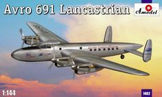 Avro 691 Lancastrian. A Model, 1/144, injection, No.1462. Price: 16,19 GBP.