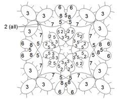 visual tatting patterns - Google Search