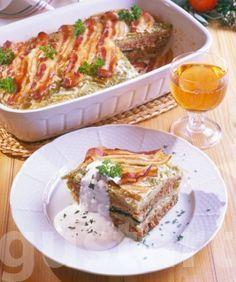 Kelkáposzta- lasagne French Toast, Food And Drink, Pizza, Breakfast, Lasagna, Morning Coffee