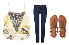 """""""Untitled #567"""" by katelyn-style ❤ liked on Polyvore featuring 7 For All Mankind and Aéropostale"""
