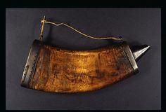 Alexander Selkirk's Powder Horn