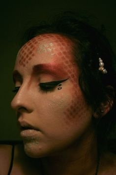 Mermaid makeup :)