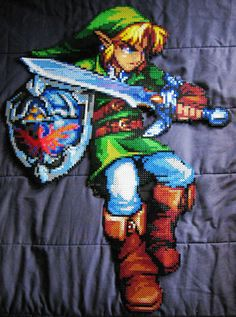 Color Me Impressed: A Giant Perler Bead Sprite Link