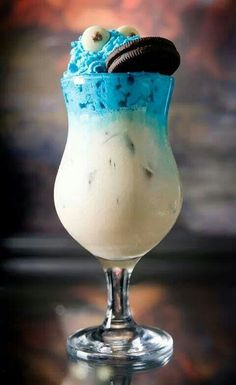 Cookie Monster drink