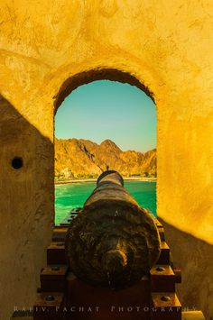 """""""The Cannon Head"""" - Muttrah Corniche Location: Muscat, Sultanate of Oman Captured with a Nikon D300S"""