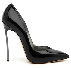 StyleBlazer Splurge:  Casadei's Perfect Black Pump