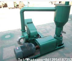 Small and compact hammer mill+cyclone+feed pellet mill