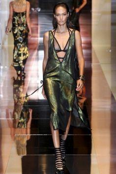 Abito verde brillante Gucci Primavera-Estate 2014
