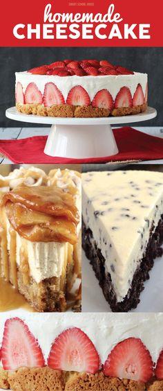 Easy Homemade Cheesecake Recipe Ideas!