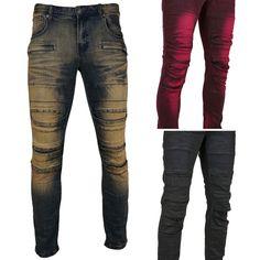 8IGHTH DSTRKT Multi Pattern Patch Jeans