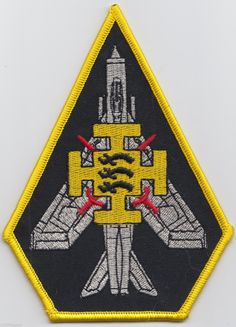 RAF no 111 Squadron Lightning Jet Royal Air Force Embroidered Patch