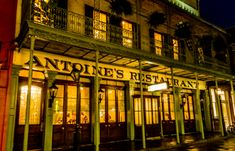 Antoine's, New Orleans' Oldest Restaurant, Celebrates 175 Years.  Read more! Louisiana Travel