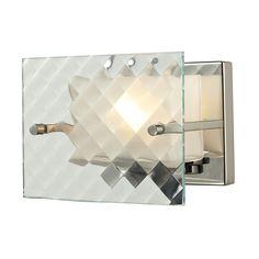 Talmage 1 Light Vanity In Brushed Nickel 31415/1
