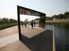 turenscape: shanghai houtan park best landscape project at WAF 2010 - designboom | architecture