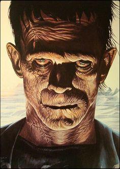 Frankenstein ~ Boris Karloff