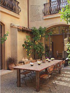 """Tuscan Moroccan"" - Lynn Pries Design"