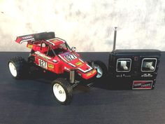 #vintage Tyco Turbo Hopper Radio Controlled Rc Dune Buggy Taiyo 80's Red 27 Mhz from $110.0