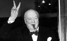 """A Nazi plot to kill Sir Winston Churchill with a bar of exploding chocolate  during the Second World War has been revealed in historic papers.  Giving a new meaning to the dessert name """"death by chocolate"""", Adolf Hitler's  bomb makers coated explosive devices with a thin layer of rich dark  chocolate, then packaged it in expensive-looking black and gold paper."""