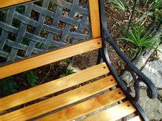 Cast Iron Garden Bench, Garden Benches, Outdoor Furniture, Outdoor Decor, Recycling, Woodworking, Backyard, Outdoor Structures, Future