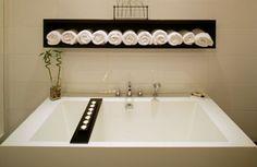 Colores para Decorar: Toalleros originales para baños
