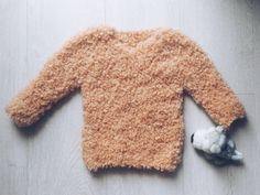 Boucle sweater for a kid