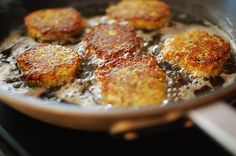Zucchini Cakes [minus the breadcrumbs for me - hmmmm...what can I substitute???]