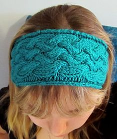 Ravelry: Criss-Cross Cable Headband pattern by MD Knitting Projects, Knitting Patterns, Crochet Patterns, Hat Patterns, Mitten Gloves, Mittens, Knit Crochet, Crochet Hats, Headband Pattern