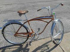 1963 Schwinn Mark V Jaguar Cruiser Bike Cool Bicycles, Cool Bikes, Lowrider Bike, Vintage Bicycles, Kustom, Jaguar, Rat, Transportation, Cool Stuff