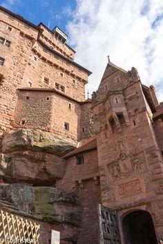 Castillo de Haut-Koenisbourg, La Alsacia, Francia Grand Canyon, Places To Visit, Around The Worlds, Europe, Mansions, House Styles, City, Travel, Entertainment