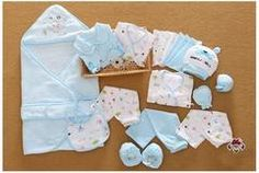 21 Pcs/Set Cotton Newborn Baby Clothing Set for Girls Boys Toddler Baby-clothes New Born Gift Set - Blue / 0-3 months