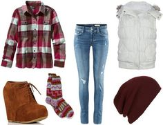 Cute Outfits With Vans | Winter Outfit Ideas: Inspired by Fun Winter Break Activities ...