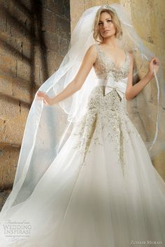 Zuhair Murad Wedding Dress http://roxyheartvintage.com
