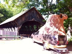 Follow the L.L.Bean Bootmobile's adventures on Twitter @Bootmobile