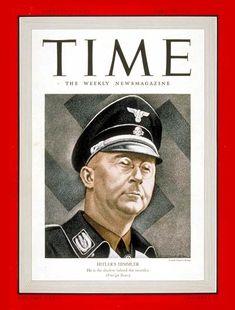 TIME Magazine Cover: Heinrich Himmler - Apr. 24, 1939 - Heinrich Himmler - Germany - World War II - Nazism - Holocaust