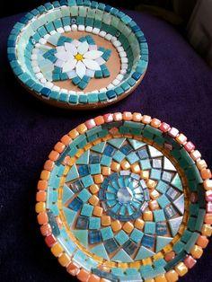 Best 12 Birdbath or platter Mosaic design – SkillOfKing.