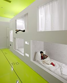 Room interior at Goli by STUDIO UP architects.