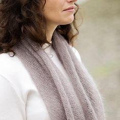 Mohair Bias Loop Pattern - Knit Purl