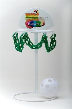 Interactive Basketball Set Bird Toy with Training Guide & Clicker - Large