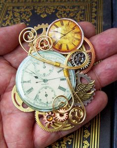 {STEAMPUNK JEWELRY Designs By Friston.} for some reason this steam punk stuff reminds me of Tim Burton's Alice in wonderland and I really love it.
