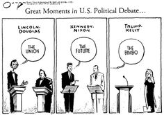 """Trump's """"great"""" debate moment. I can't wait to see him try to bluff and name call his way through the presidential debates where he'll actually be expected to know what he's talking about. 