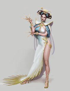 female orient noble woman