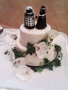 Dr. Who Dalek Cake